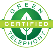Green Certified Telephony