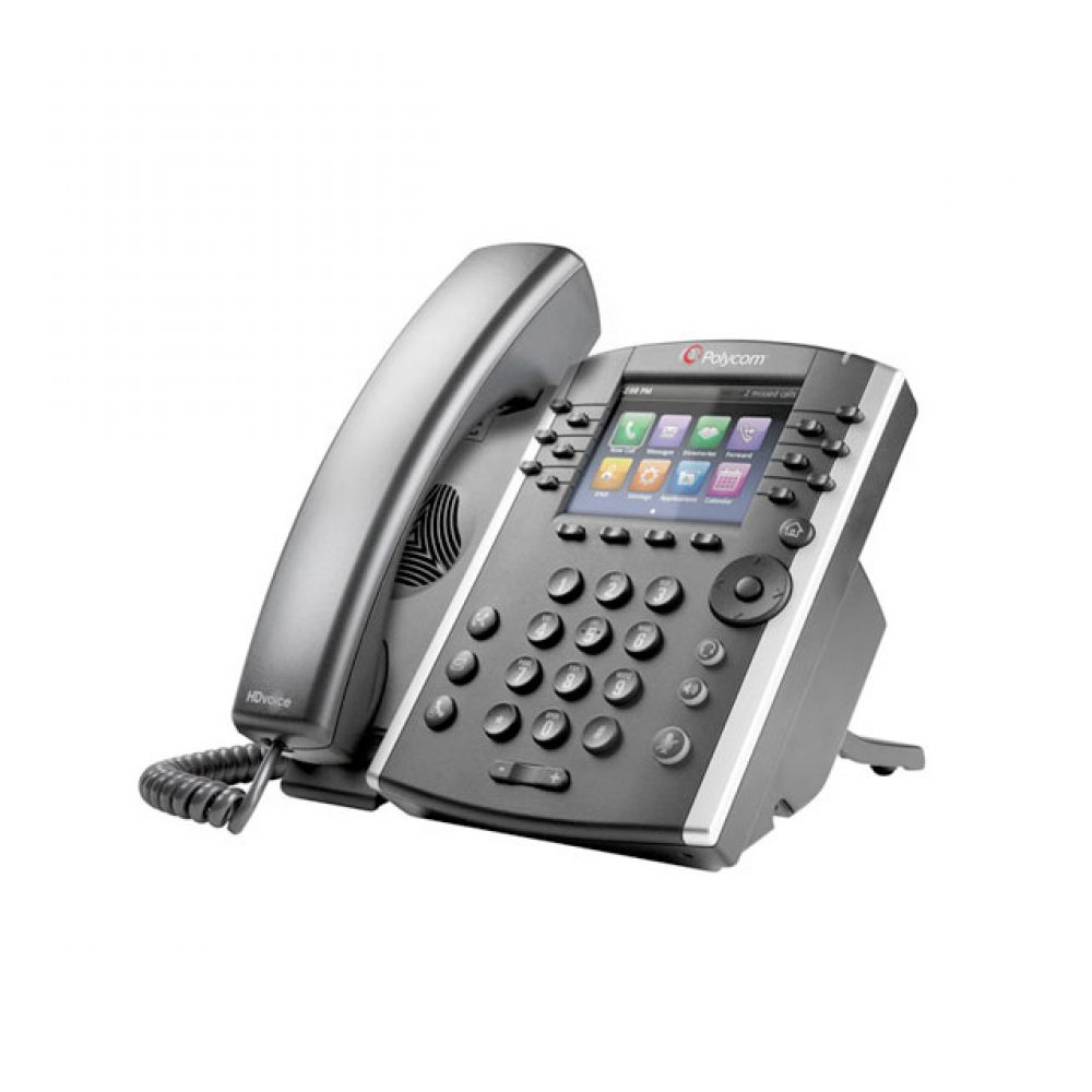 ActivePBX Polycom VVX 400 Side View